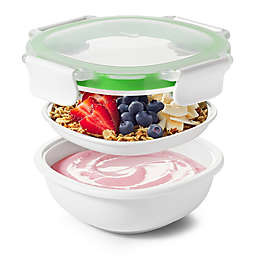OXO Good Grips® Snack to Go 40 oz. Food Container in White