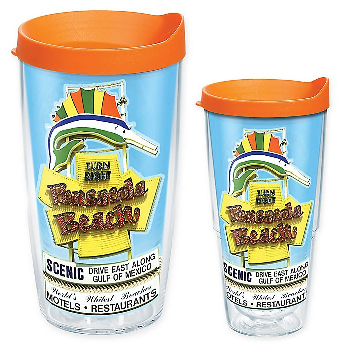 Alternate image 1 for Tervis® Pensacola Signs Wrap Tumbler with Lid