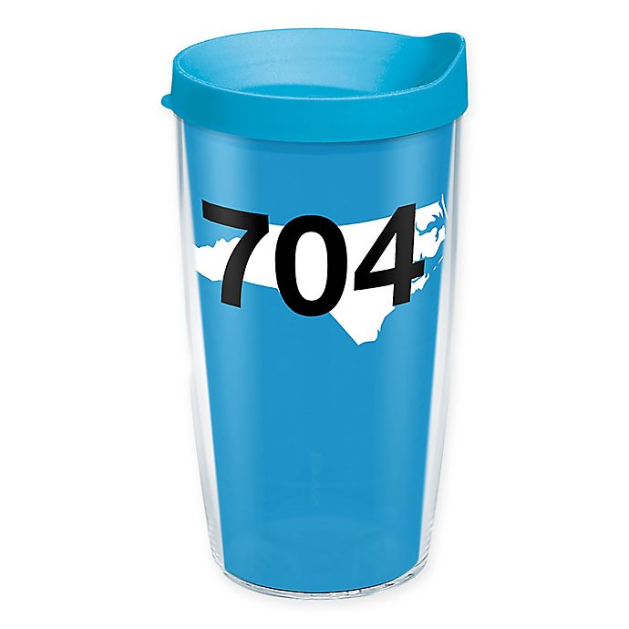 Alternate image 1 for Tervis® NC 704 16 oz. Wrap Tumbler with Lid