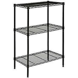 Safavieh Sierra Mini 3-Tier Chrome Wire Rack
