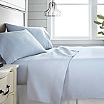 Home Collection 300-Thread-Count Deep-Pocket King Sheet Set in Light Blue