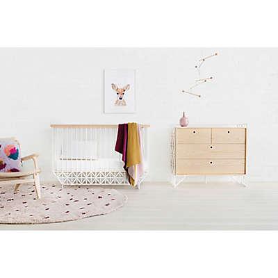 Ubabub Mod Nursery Furniture Collection in Warm White/Natural