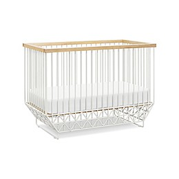 Ubabub Mod Crib in Warm White/Natural