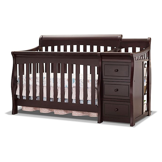 Alternate image 1 for Sorelle Princeton Elite 4-in-1 Convertible Crib in Espresso
