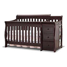 Sorelle Princeton Elite 4-in-1 Convertible Crib in Espresso