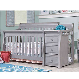 Sorelle Princeton Elite 4-in-1 Convertible Crib in Weathered Grey