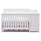 Sorelle Princeton Elite 4-in-1 Convertible Crib in White