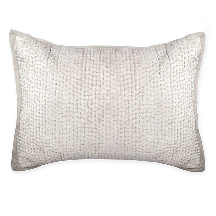 Alternate image 1 for Wamsutta® Collection Velvet Hand Quilted Pillow Sham