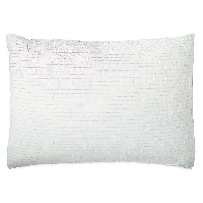 Alternate image 1 for DKNYpure® Crinkle Pillow Sham