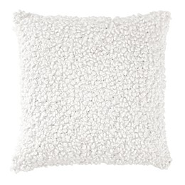 DKNYpure® Crinkle Looped Square Throw Pillow