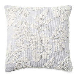 Peri Home Cut Geo Floral Square Throw Pillow