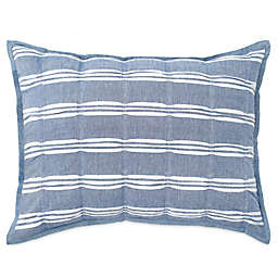 Peri Home Puckered Stripe Pillow Sham