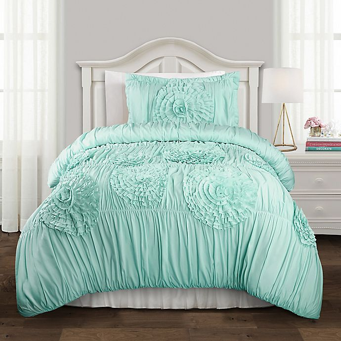 Lush Decor Serena Comforter Set Bed