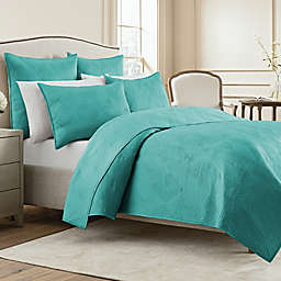 Wamsutta® Bliss Twin Coverlet in Mint