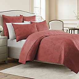 Wamsutta® Bliss King Coverlet in Rose