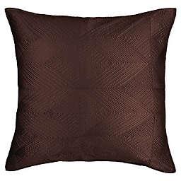 Wamsutta® Bliss European Pillow Sham in Coffee