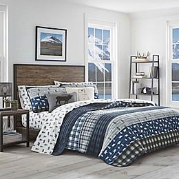 Eddie Bauer® Blue Creek Plaid Quilt Set