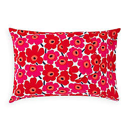 Marimekko® Unikko King Pillowcases in Red (Set of 2)