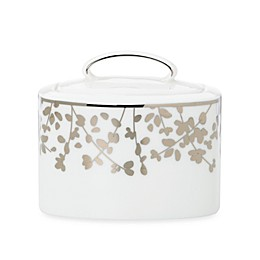kate spade new york Gardner Street Platinum™ Covered Sugar Bowl