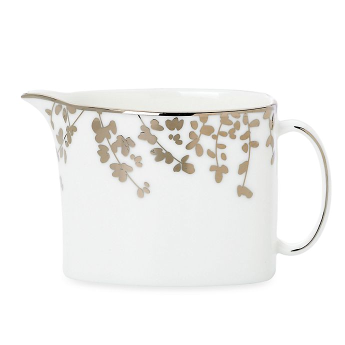 Alternate image 1 for kate spade new york Gardner Street Platinum™ Creamer