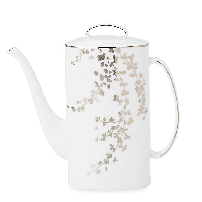Alternate image 1 for kate spade new york Gardner Street Platinum™ Coffee Server