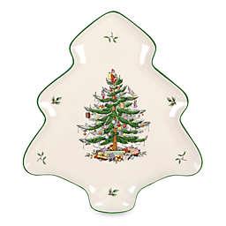 Spode® Christmas Tree Tree-Shaped Platter