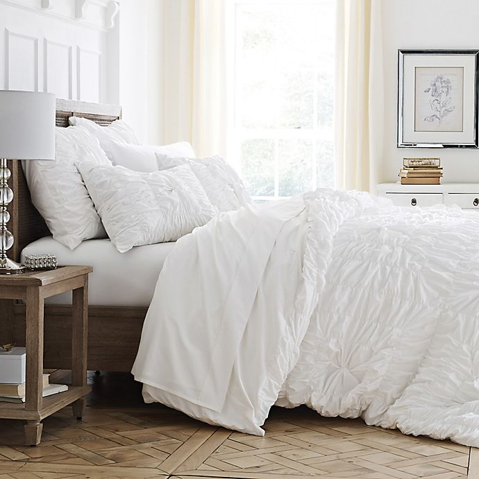 style luxe serenity comforter set bed bath beyond. Black Bedroom Furniture Sets. Home Design Ideas