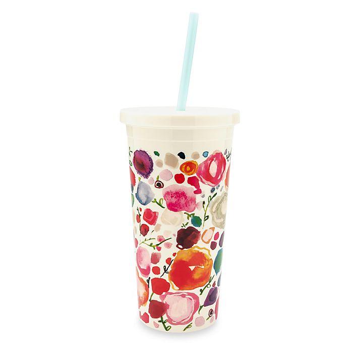 Alternate image 1 for kate spade new york Floral Tumbler