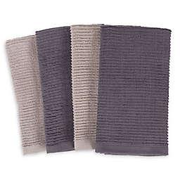 SALT Wave Bar Mop Kitchen Towels (Set of 4)