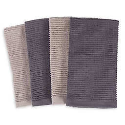 SALT™ Wave Bar Mop Kitchen Towels (Set of 4)