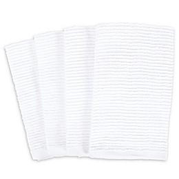 SALT™ Wave Bar Mop Kitchen Towels (Set of 4)