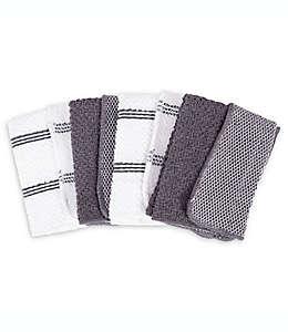 Toallas de cocina SALT™ en gris, Set de 4