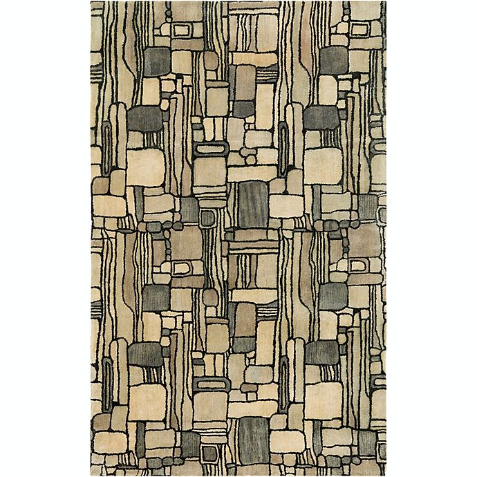 Alternate image 1 for Surya Natural Affinity Rectangles 8' x 10' Area Rug in Black