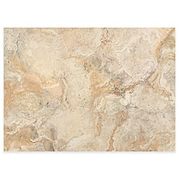 MHF Home Traventine Marble Laminated Placemats in Taupe (Set of 4)