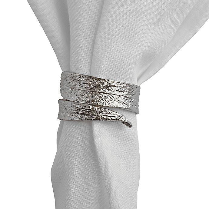 Alternate image 1 for Olivia & Oliver Leaf Napkin Rings (Set of 4)