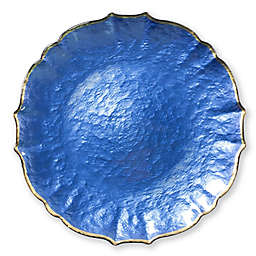 Viva by Vietri Glass Charger Plate in Cobalt