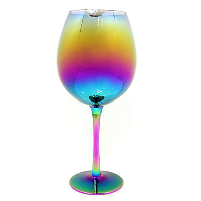 dci Irridescent XL Multicolor Wine Glass