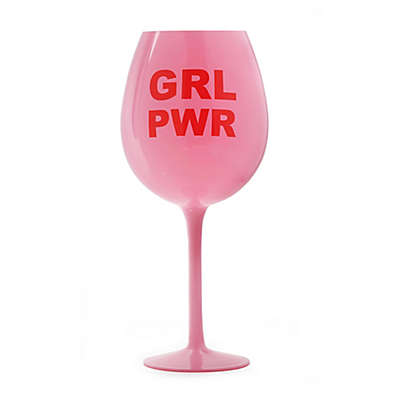 dci GRL PWR XL Wine Glass in Pink