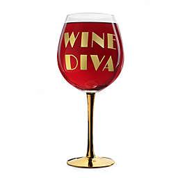 XL Wine Diva Wine Glass