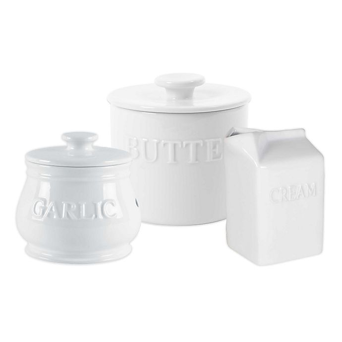 Alternate image 1 for Everyday White® by Fitz and Floyd® Bistro Serveware Collection