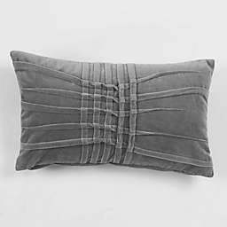 American Colors Velvet Pintuck Oblong Throw Pillow