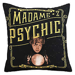 E By Design  Witches Brew Madame Psychic Square Throw Pillow