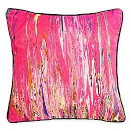 New York Art Gallery Anu Square Throw Pillow