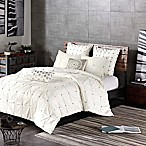 INK+IVY Masie Full/Queen Comforter Set in Creamy White