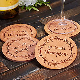 Floral Wedding Coaster