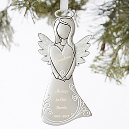 Angel In Heaven Personalized Memorial Ornament