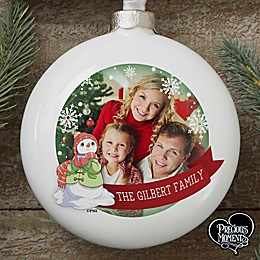 Precious Moments® Personalized Family Photo Ornament