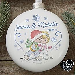 Precious Moments® Personalized Couple Ornament