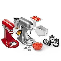 KitchenAid® 5-Quart Artisan™ Shredder and Grinder/Strainer Attachment Pack