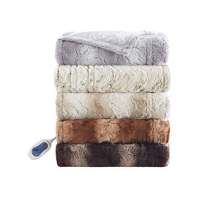 Alternate image 1 for Beautyrest® Zuri Heated Throw Blanket